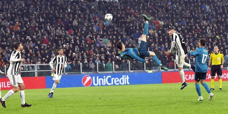 Juventus'lu Ronaldo'nun Juventus'a attığı gol yılın en iyisi seçildi