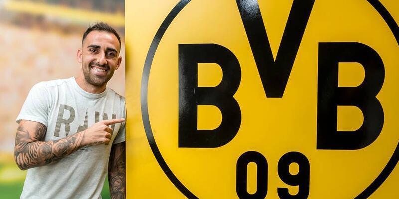 Dortmund Alcacer'i Barcelona'dan kiraladı