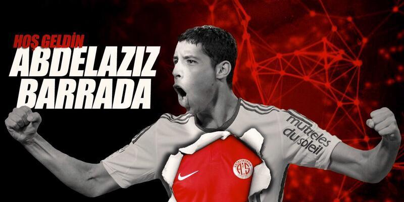 Antalyaspor Barrada'yı kadrosuna kattı