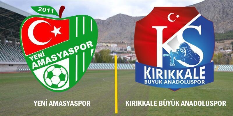 Yeni Amasyaspor-Kırıkkale Büyük Anadoluspor maçı izle | A Spor canlı yayın