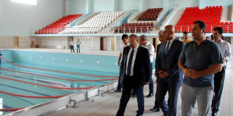 Bitlis'e yarı olimpik yüzme havuzu