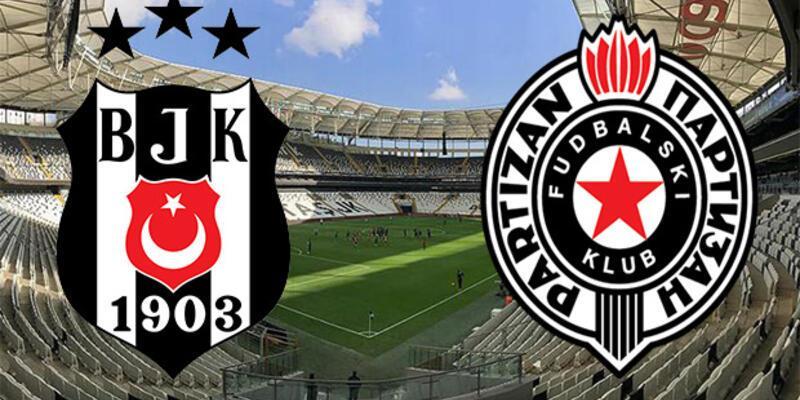 Beşiktaş - Partizan maçı muhtemel 11'ler