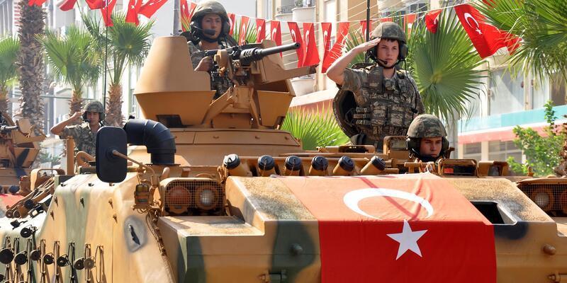 Osmaniye'de zaferin 96'ncı yıl dönümü törenlerle kutlandı
