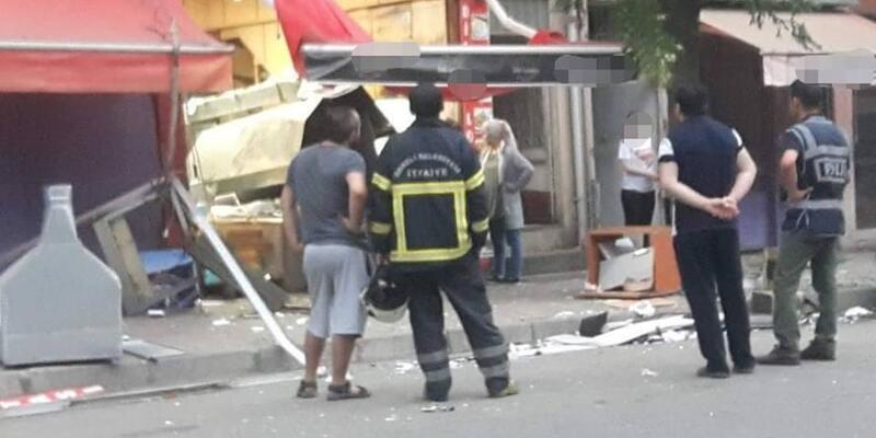 Dereli'de lokantada tüp patladı; 1 yaralı