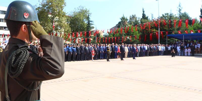 Trabzon'da, Zafer Bayramı coşkusu