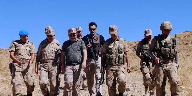 TerördentemizlenenHekekol Dağı'nda TPAO, petrol arıyor