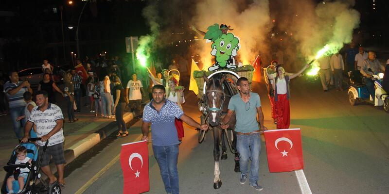 Alaşehir'de festival zamanı