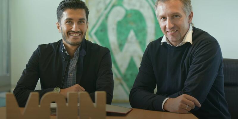 Nuri Şahin Werder Bremen'le imzaladı