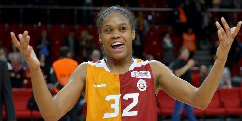 Moriah Jefferson yeniden Galatasaray'da