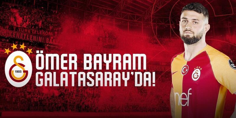 Galatasaray Ömer Bayram'ı KAP'a bildirdi
