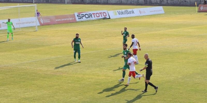 Ümraniyespor 2-0 Giresunspor / Maç Sonucu