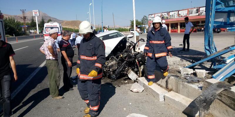 Malatya'da iki ayrı kaza: 5 yaralı