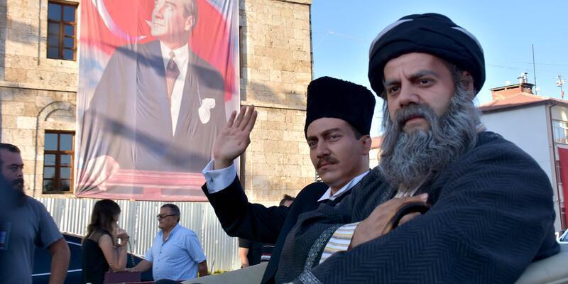 Atatürk'ün Sivas'a gelişi 'temsili' olarak canlandırıldı