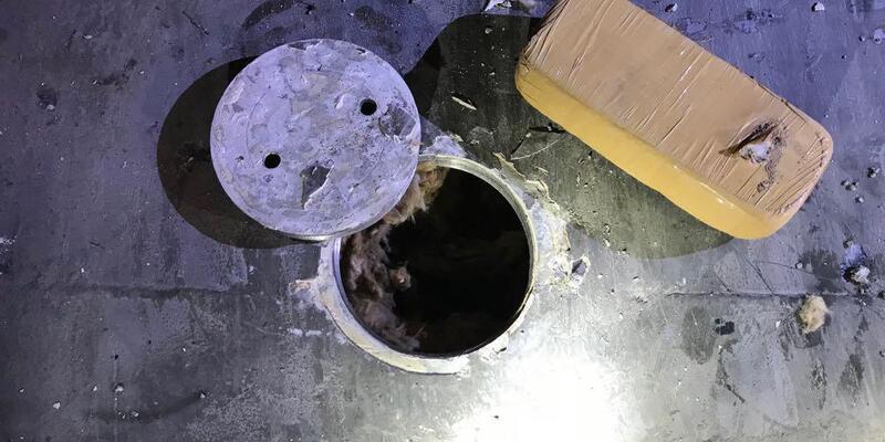 TIR'ın yakıt deposundan 140 kilo eroin çıktı