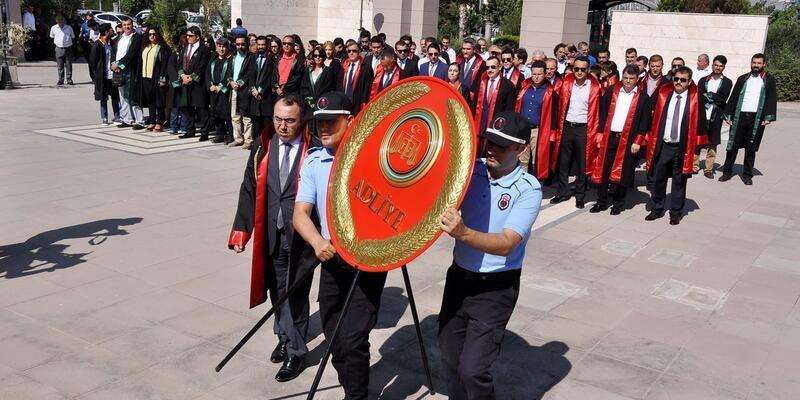 Osmaniye'de adli yıl törenle başladı