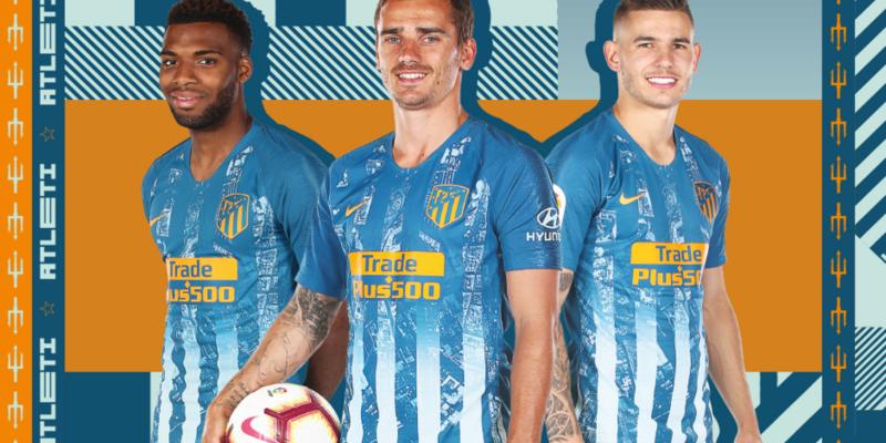 Atletico Madrid'den mavi forma