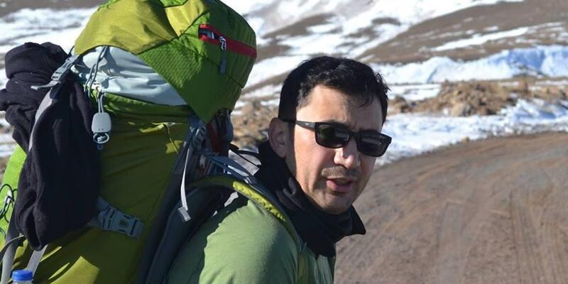 Kaçkarlar'da kaya düşmesi ile yaralanan dağcı, helikopterle alındı