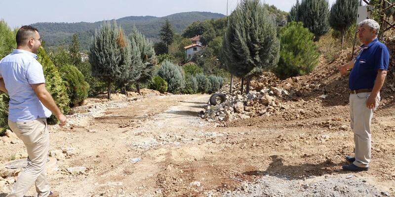 Soğucak'ta kanalizasyon hattı yenilendi
