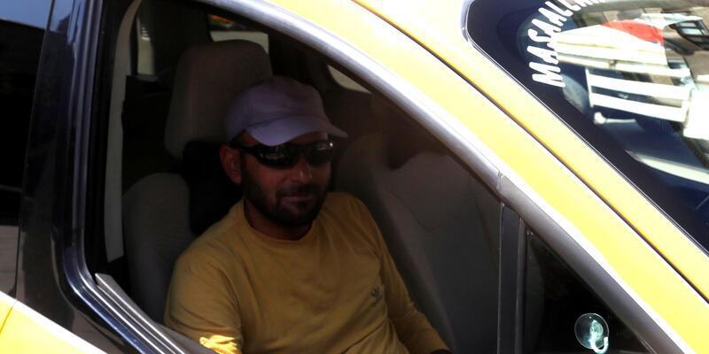 Taksicinin dikkati, uyuşturucu tacirlerini yakalattı