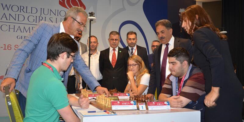 Gebze'de 'Dünya Gençler Satranç Şampiyonası'