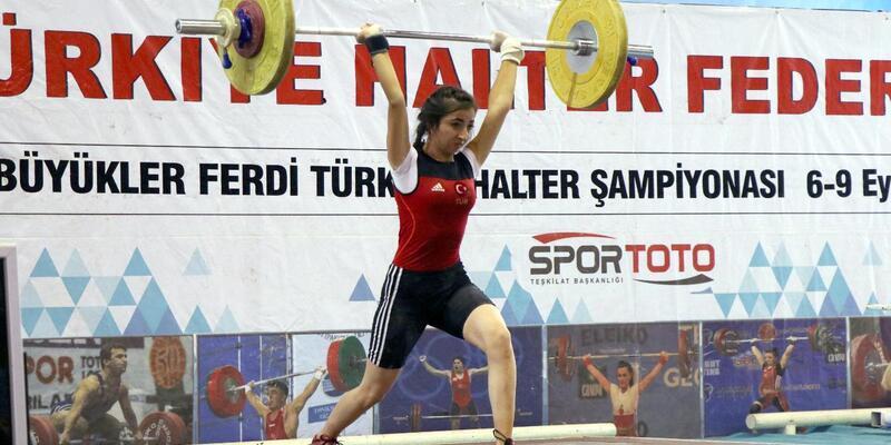Türkiye Halter şampiyonası başladı