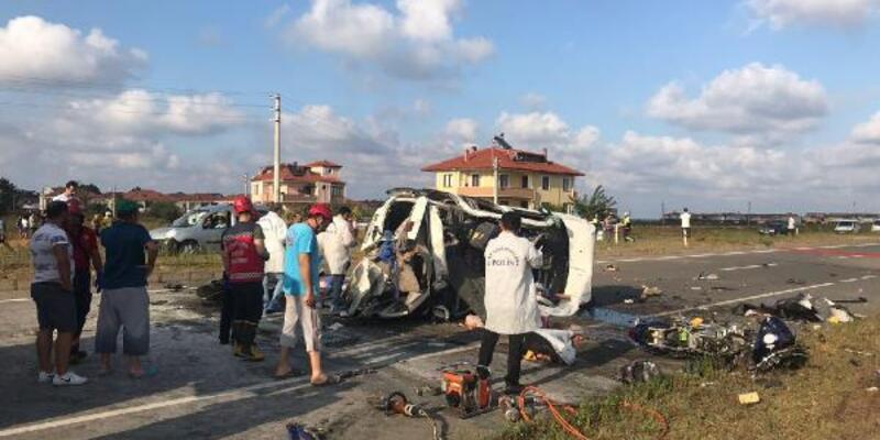 Sakarya'da 7 kişinin öldüğü kazada sürücü tutuklandı