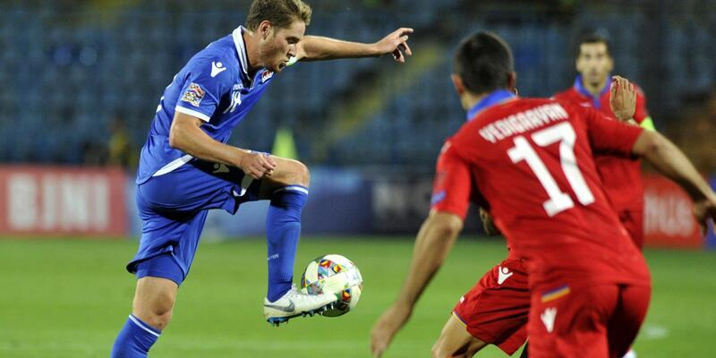 UEFA Uluslar Ligi: Ermenistan 2-1 Liechtenstein