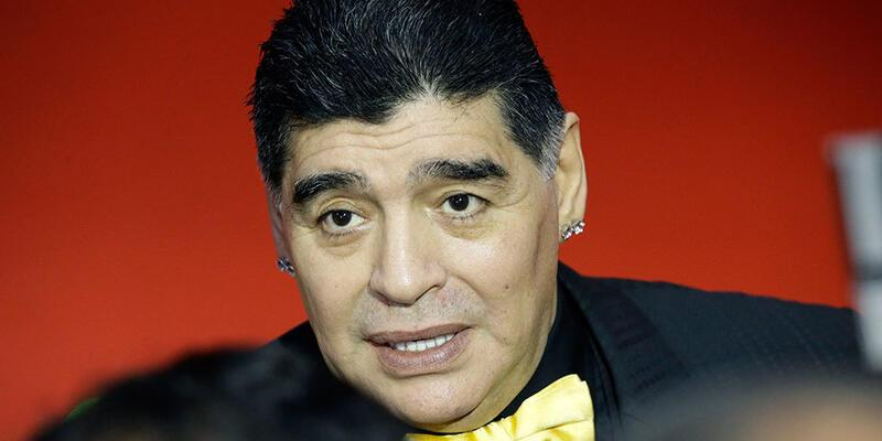 Maradona Meksika İkinci Ligi'nde!