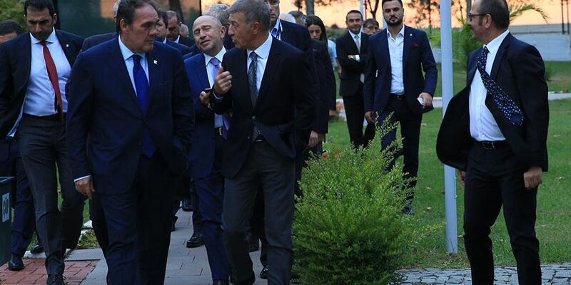 Demirören ve Baykan'dan Trabzonspor'a ziyaret