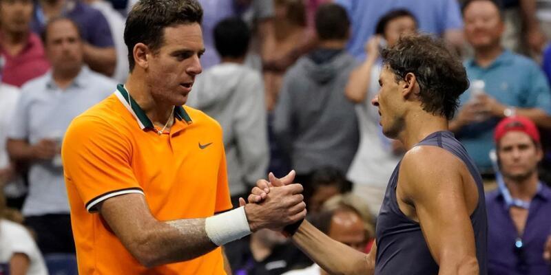 Djokovic'in finaldeki rakibi Del Potro oldu
