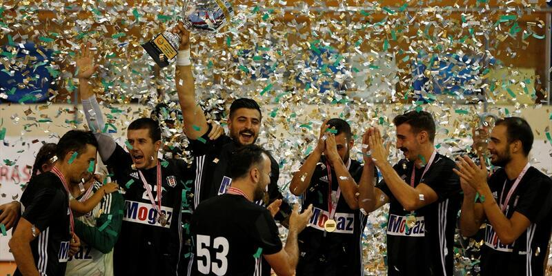 Hentbolde Süper Kupa Beşiktaş'ın