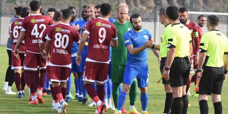 Büyükşehir Belediye Erzurumspor: 3 - Tetiş Yapı Elazığspor: 1