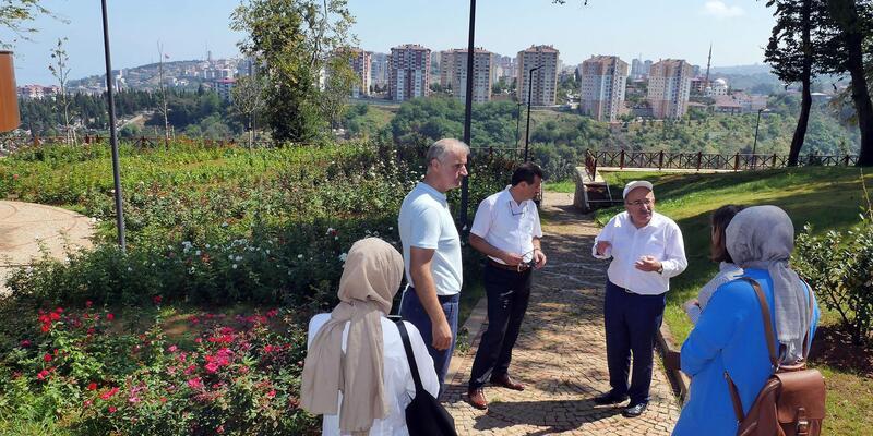 Trabzon Botanik'e ziyaretçi akını