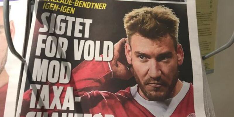 Ünlü futbolcu taksicinin çenesini kırdı