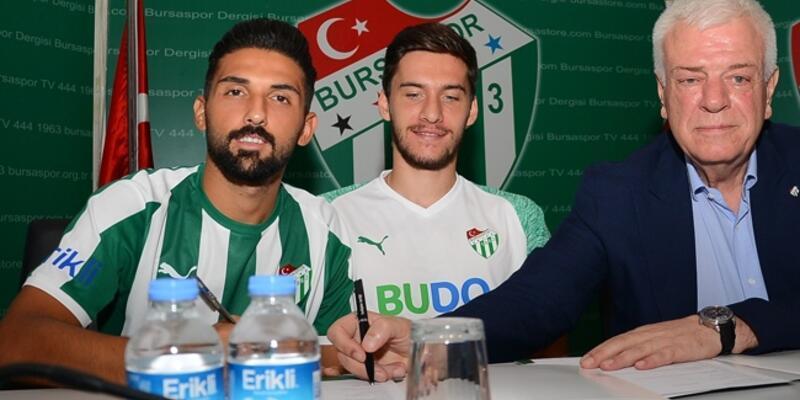 Bursapor'un sol beki Umut Meraş'ın performansı dikkat çekti