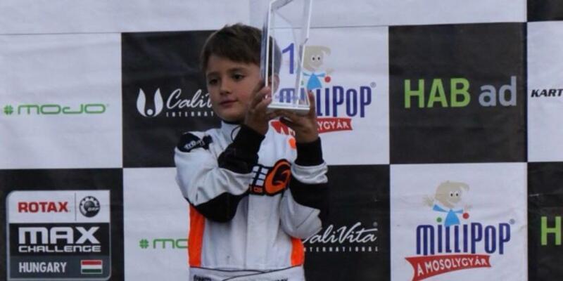 Alp Hasan Aksoy 8 yaşında tarih yazdı