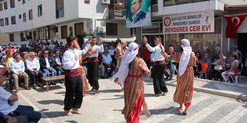 Menderes'te cemevi açıldı