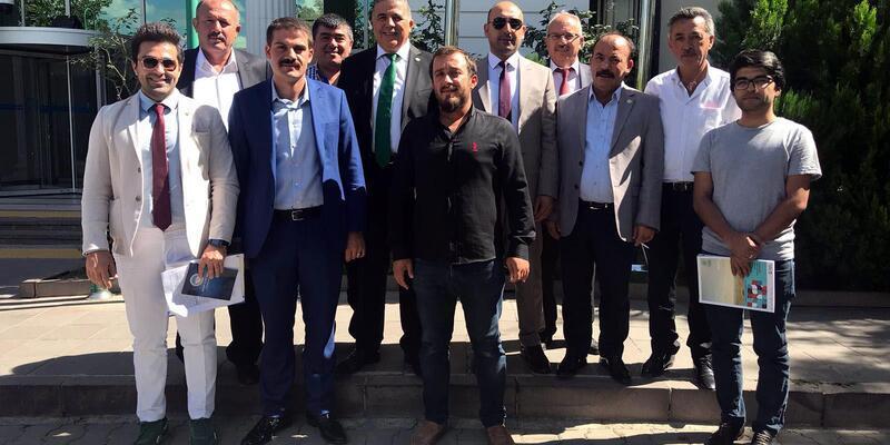 Kayseri'de 'Hububat Ticaret Merkezi arsasının yeri belirlendi
