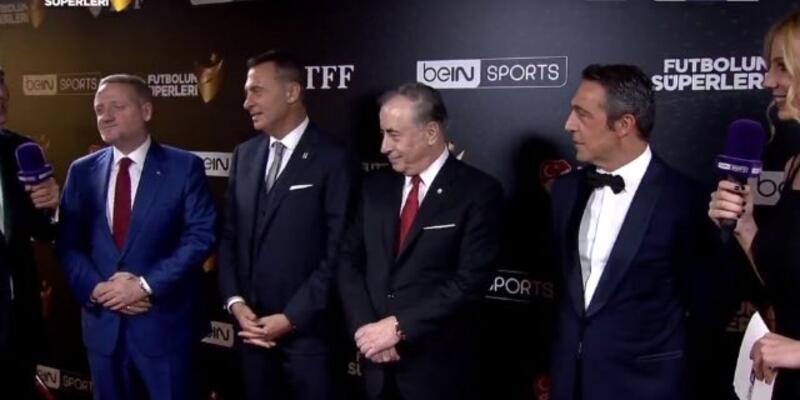 Ali Koç ve Phillip Cocu Futbolun Süperleri Ödül Töreni'nde
