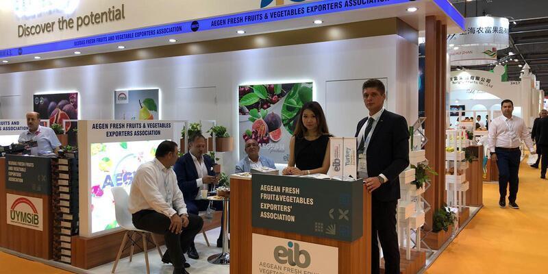 Yaş meyve sebze ihracatçıları Uzakdoğu pazarına Hong Kong'dan girdi