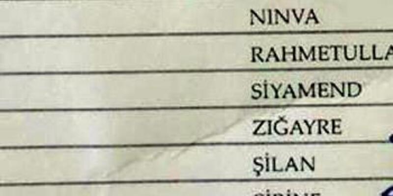 Midyat'taki okulun sınıf listesi, sosyal medyada ilgi gördü