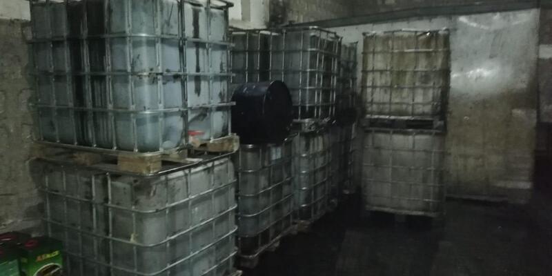 Kayseri'de 13 bin litre kaçak akaryakıta 2 gözaltı