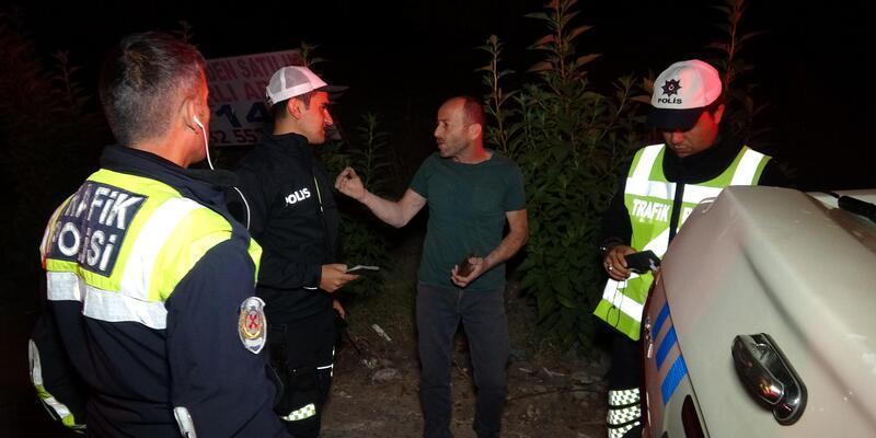 İkinci defa alkollü yakalanınca polise yalvardı