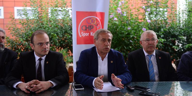 CHP'li Kaya: Ülkemizde futbol İstanbul takımlarının hegemonyası altında