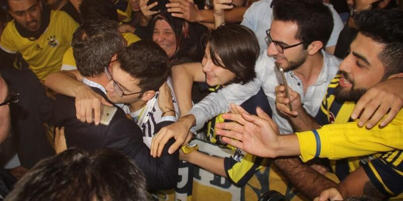 Fenerbahçe'ye Konya'da coşkulu karşılama