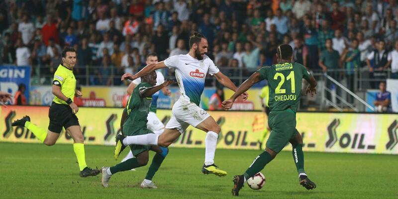 Rizespor 1-1 Bursaspor / Maç Sonucu