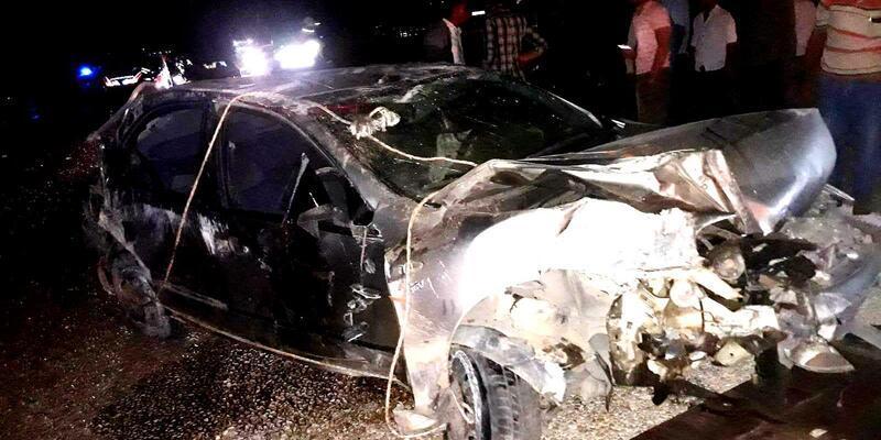 Uzman çavuş kazada öldü, meslektaşı yaralandı