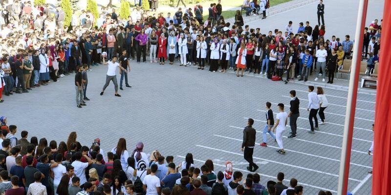 Kayseri OSB Teknik Koleji'nde ders zili çaldı