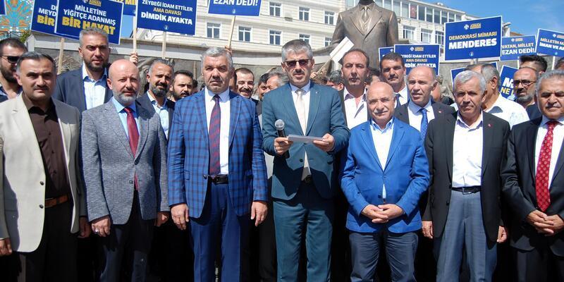 AK Parti'den Menderes'in ölüm yıldönümü nedeniyle basın açıklaması