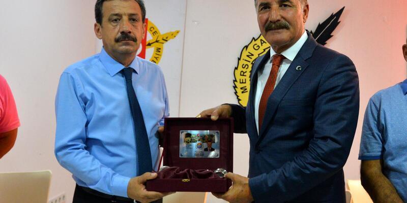 Başkan Tuna'dan MGC'ye ziyaret